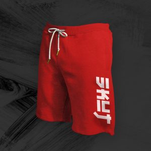 Loose-Fit SKUT Shorts (Red)