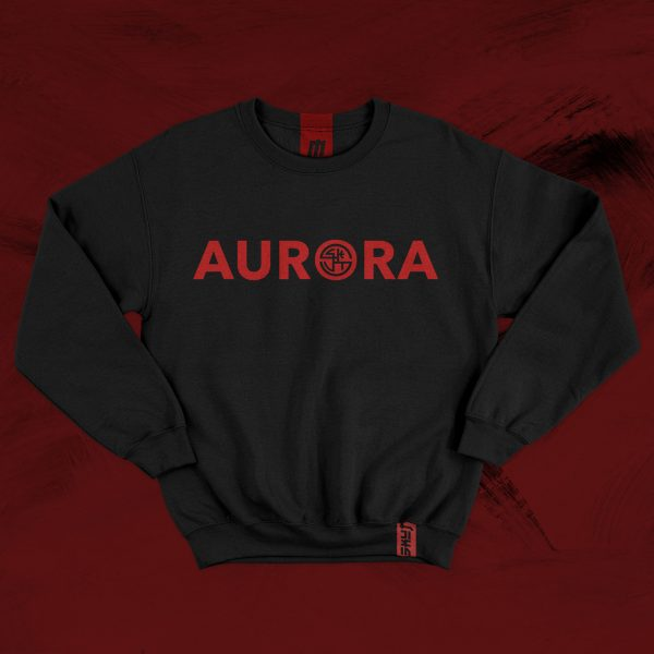 AURORA SKUT CITY COLLECTION A Collection Inspired by the hometown of Justin Agustin and Jordan Jones 100% Cotton Graphic Logo Printed Across Chest the city of lights Justin JAYGUST Agustin