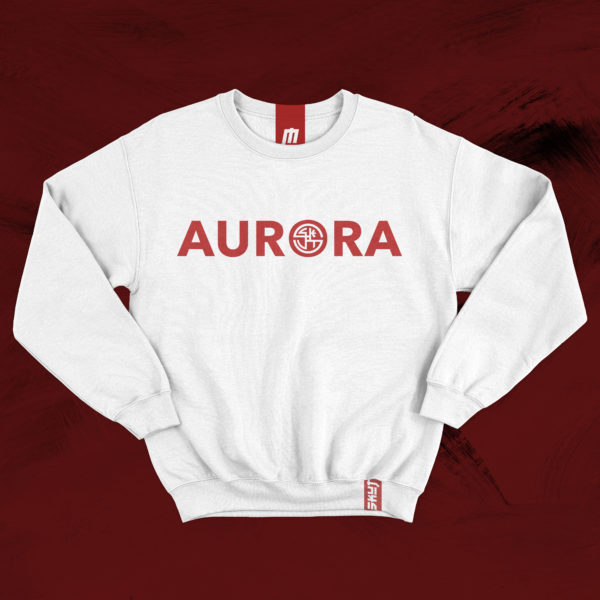 AURORA SKUT CITY COLLECTION A Collection Inspired by the hometown of Justin Agustin and Jordan Jones 100% Cotton Graphic Logo Printed Across Chest the city of lights