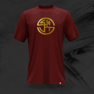 The EMBLEM Tee (Various Colorways/Burgundy)
