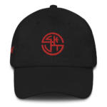 SKUT Cap (Red Emblem) (White/Black/Navy)
